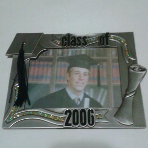 Nwt Class Of 2006 Graduation Metal Photo Frame Poshmark